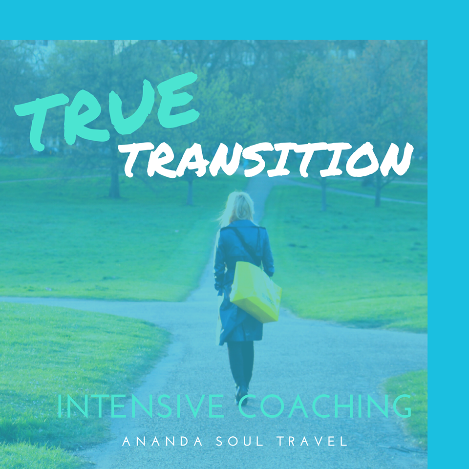 Transition into a new way of life coaching package