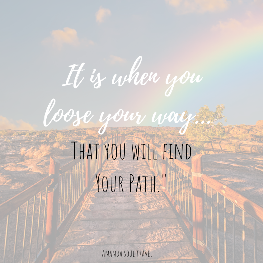 free clarity session, lose your way to find your path