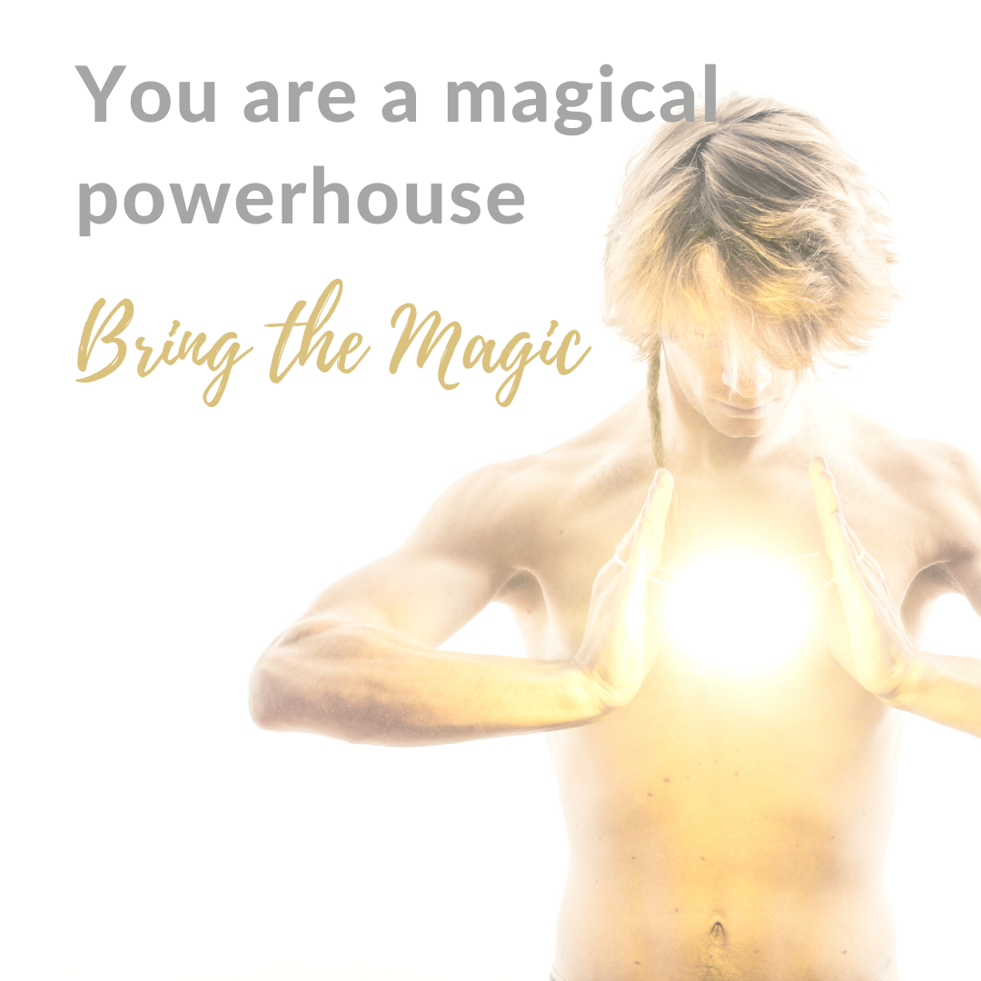 You are a magical powerhouse