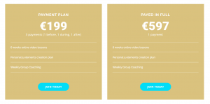 payment plan dream creator program